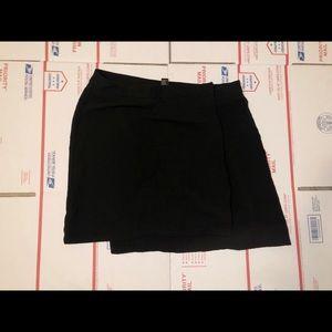 Forever 21 Black Asymmetrical Skirt